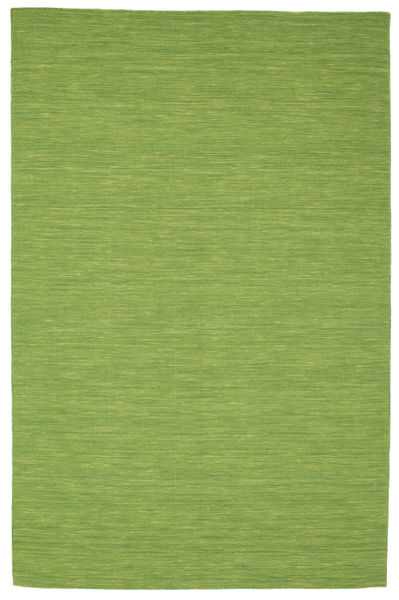 Kelim loom - Grønn teppe CVD8964