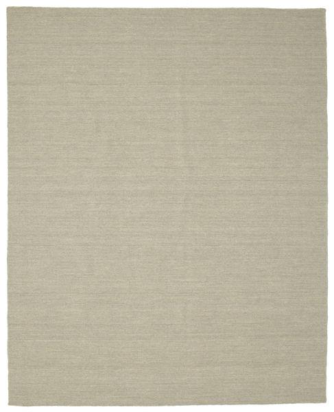 Kilim Loom - Light Grey/Beige Rug 200X250 Authentic  Modern Handwoven Light Grey (Wool, India)