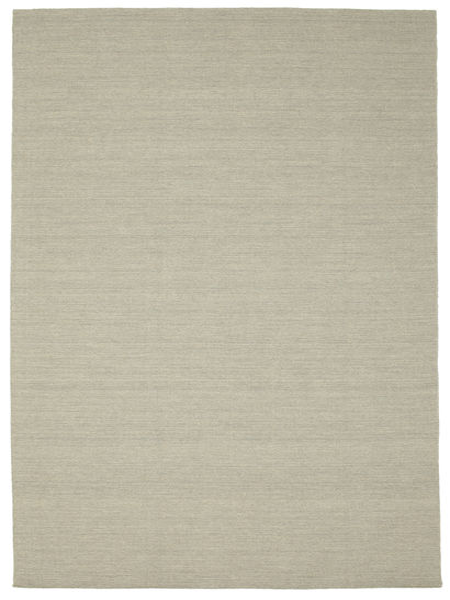 Kelim loom - Lysegrå / Beige tæppe CVD9086