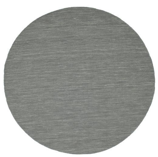 Kelim loom - Tummanharmaa-matto CVD9137