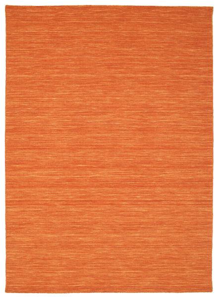 Kelim loom - Orange Teppich CVD8805