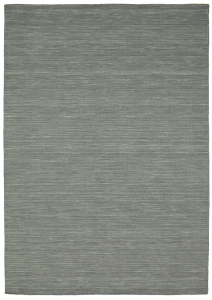 Kilim Loom - Dark Grey Rug 160X230 Authentic  Modern Handwoven Light Grey/Dark Grey (Wool, India)