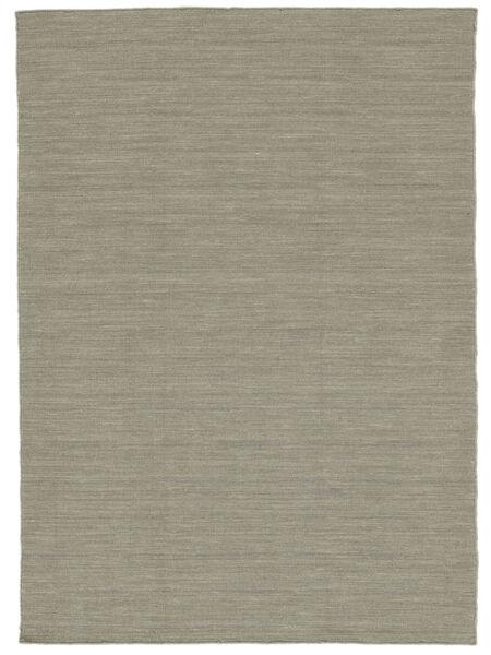 Kilim Loom - Light Grey/Beige Rug 160X230 Authentic  Modern Handwoven Light Grey (Wool, India)