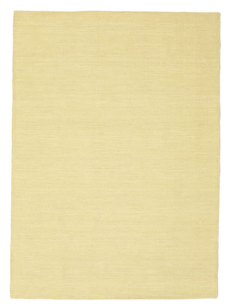 Kilim loom - Yellow carpet CVD8849