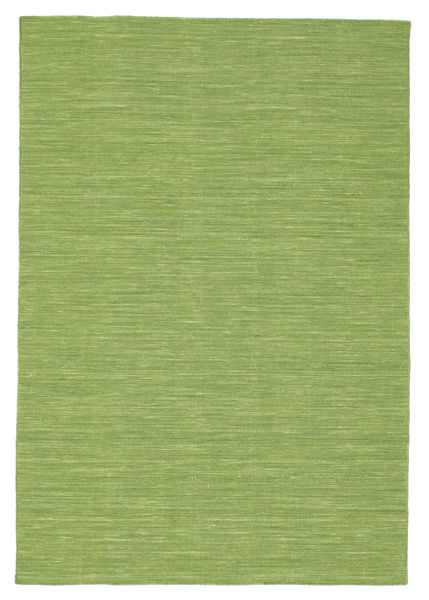 Kilim loom - Green carpet CVD8973
