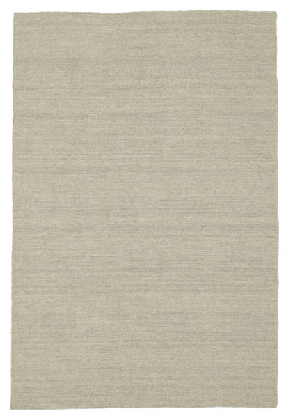 Kilim Loom - Light Grey/Beige Rug 120X180 Authentic  Modern Handwoven Light Grey (Wool, India)