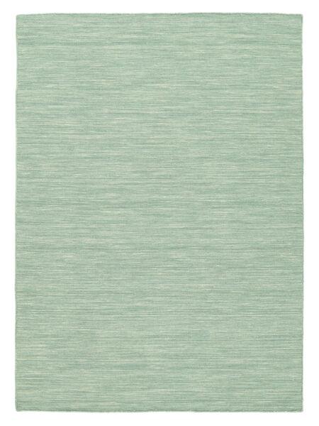 Kilim Loom - Mint Green Rug 120X180 Authentic  Modern Handwoven Pastel Green (Wool, India)