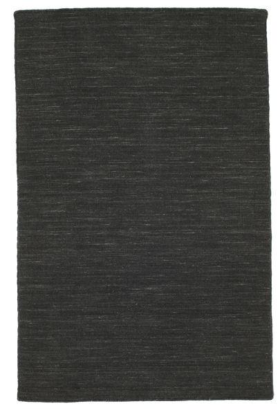 Kelim loom - Svart matta CVD8943