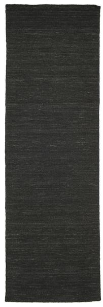 Kelim loom - Svart matta CVD8934