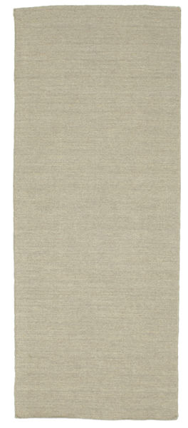 Kelim loom - Hellgrau / Beige Teppich CVD9098