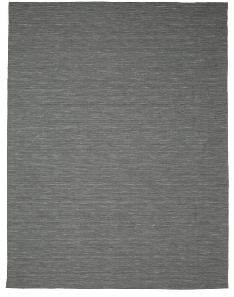 Kilim Loom - Dark Grey Rug 300X400 Authentic  Modern Handwoven Light Grey/Dark Grey Large (Wool, India)