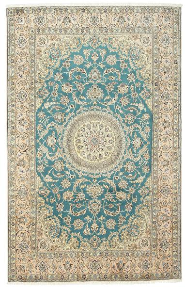 Naïn 9La Tapis 197X310 D'orient Fait Main Beige/Marron Clair (Laine/Soie, Perse/Iran)