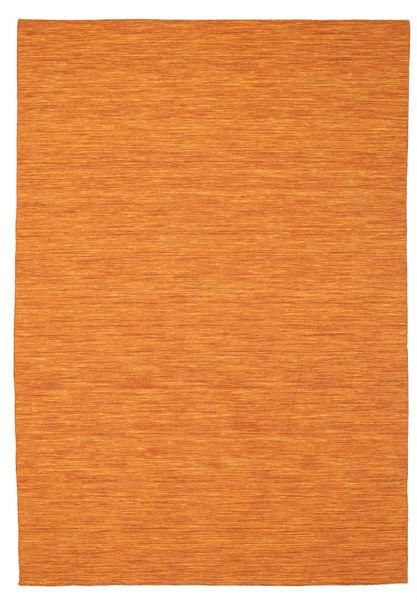 Kelim loom - oransje teppe CVD8772