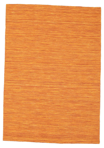 Tapis Kilim loom - Orange CVD8782