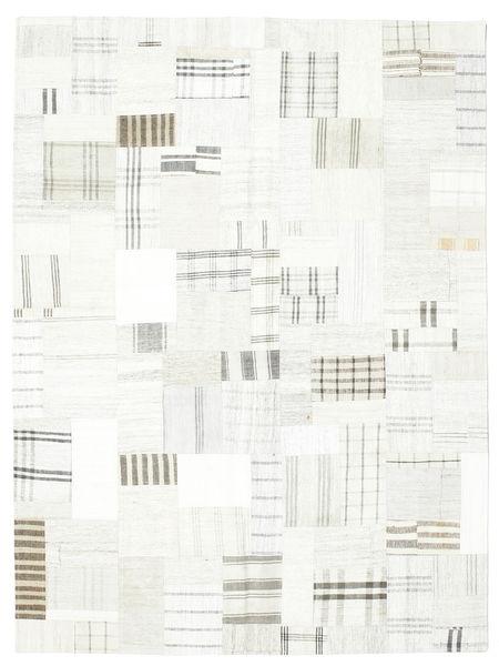Kilim Patchwork Rug 171X230 Authentic  Modern Handwoven Beige/White/Creme (Wool, Turkey)