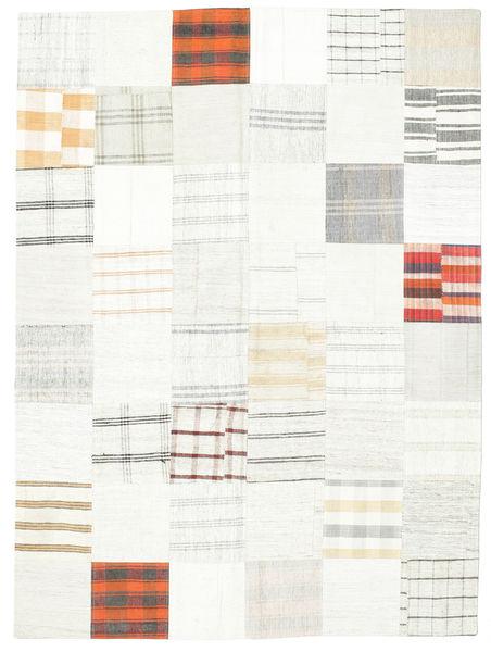 キリム パッチワーク 絨毯 169X230 モダン 手織り ベージュ/ホワイト/クリーム色 (ウール, トルコ)
