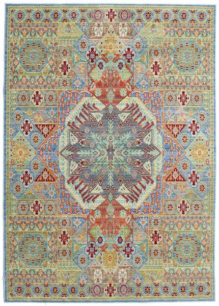 Simav Tapis 160X230 Moderne Gris Clair/Vert Clair ( Turquie)