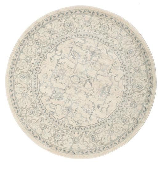 Ziegler Manhattan Rug Ø 150 Oriental Round Beige/White/Creme ( Turkey)