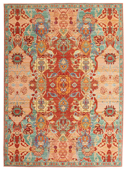 Thalia Rug 140X200 Modern Crimson Red/Light Brown ( Turkey)