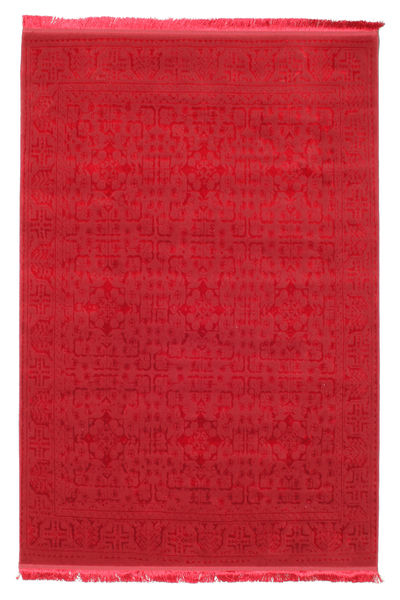 Jacques - Rouge Tapis 140X200 Moderne Rouge ( Turquie)