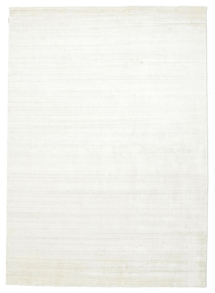 Bamboo Silk Loom - Light Natural Rug 250X350 Modern Beige Large ( India)