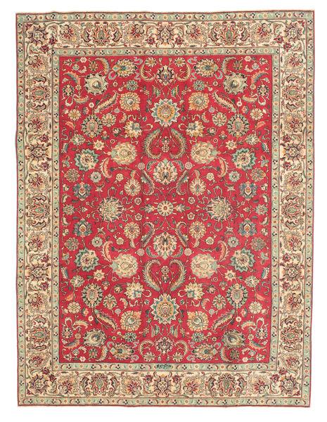 Tabriz Patina Teppe 254X335 Ekte Orientalsk Håndknyttet Lysbrun/Brun Stort (Ull, Persia/Iran)
