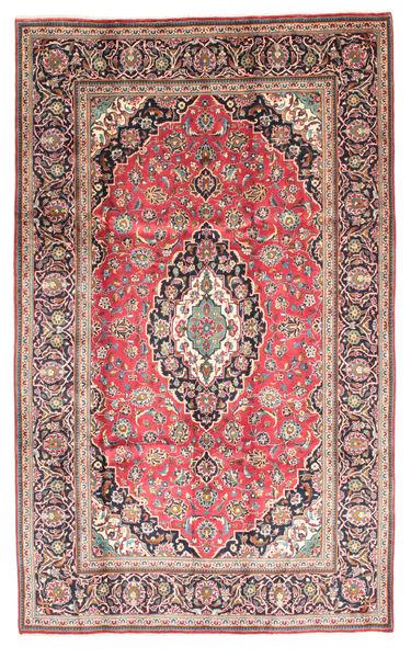 Keshan Matto 198X325 Itämainen Käsinsolmittu Violetti/Tummanharmaa (Villa, Persia/Iran)