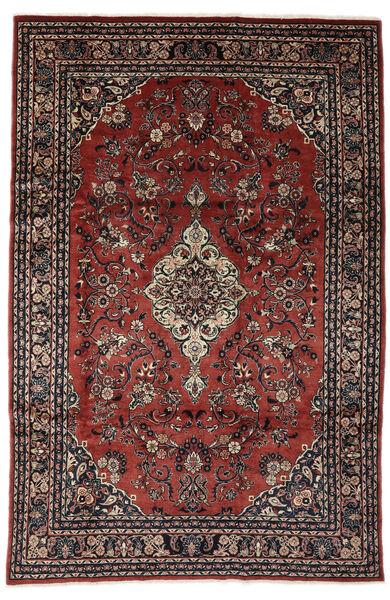 Lillian Tapis 198X317 D'orient Fait Main Rouge Foncé/Noir (Laine, Perse/Iran)