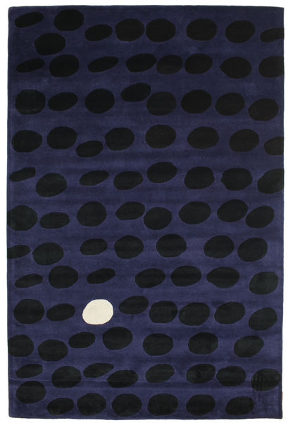 Camouflage Handtufted - Oscuro Alfombra 200X300 Moderna Negro/Azul Oscuro (Lana, India)