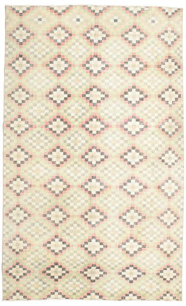 カラード ヴィンテージ 絨毯 182X298 モダン 手織り ベージュ/暗めのベージュ色の (ウール, トルコ)