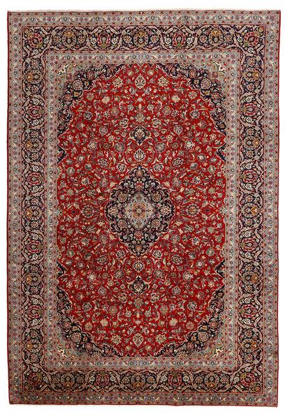 Keshan Matto 243X357 Itämainen Käsinsolmittu Ruskea/Tummanruskea (Villa, Persia/Iran)