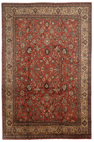 Sarouk Rug 254X384 Authentic  Oriental Handknotted Dark Brown/Light Brown Large (Wool, Persia/Iran)