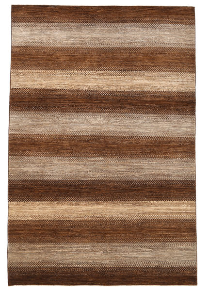 Ziegler Modern Rug 198X295 Authentic  Modern Handknotted Brown/Dark Brown (Wool, Pakistan)