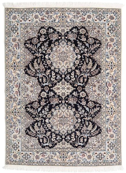 Nain 6La Matto 123X170 Itämainen Käsinsolmittu Vaaleanruskea/Vaaleanharmaa (Villa/Silkki, Persia/Iran)