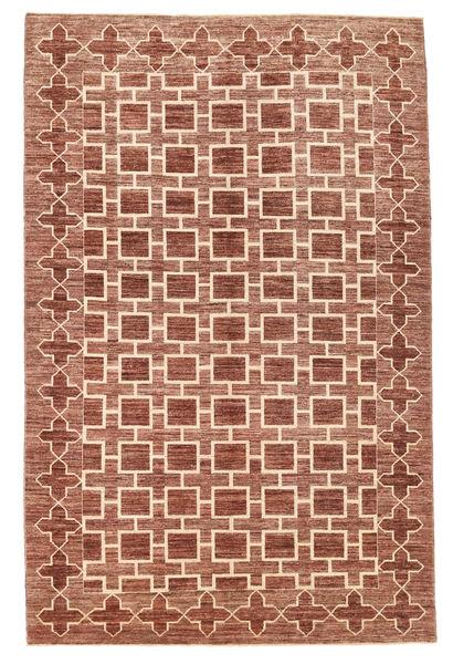 Ziegler Modern Rug 183X279 Authentic  Modern Handknotted Dark Red/Light Brown (Wool, Pakistan)