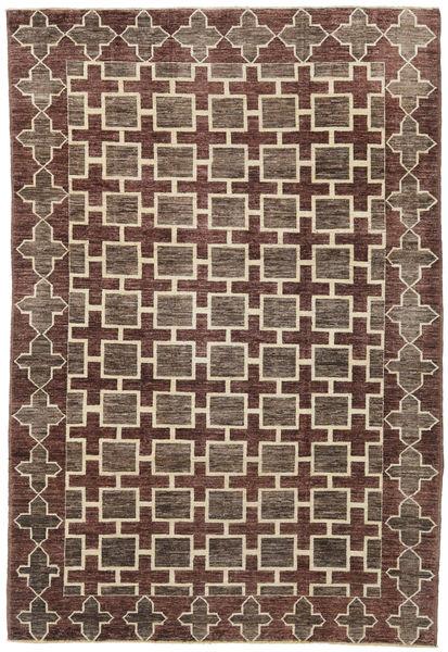 Ziegler Modern Rug 180X270 Authentic  Modern Handknotted Dark Brown/Light Grey (Wool, Pakistan)
