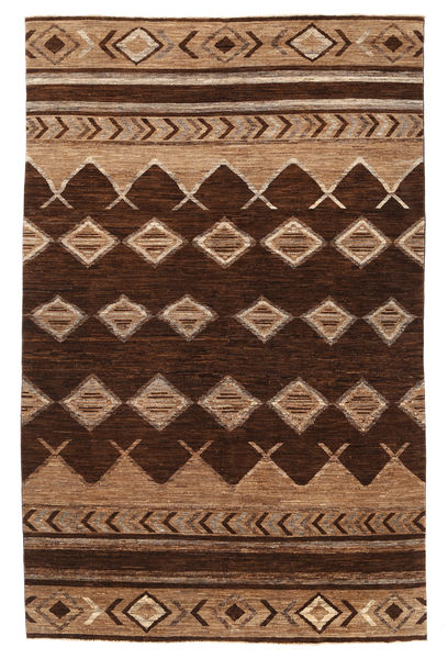 Ziegler Modern Rug 190X277 Authentic  Modern Handknotted Dark Brown/Brown (Wool, Pakistan)