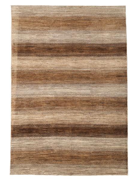Ziegler Modern Rug 197X285 Authentic  Modern Handknotted Brown/Dark Beige (Wool, Pakistan)