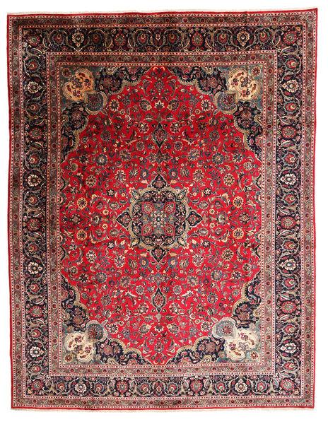 Kashmar Matta 295X384 Äkta Orientalisk Handknuten Brun/Mörkröd Stor (Ull, Persien/Iran)
