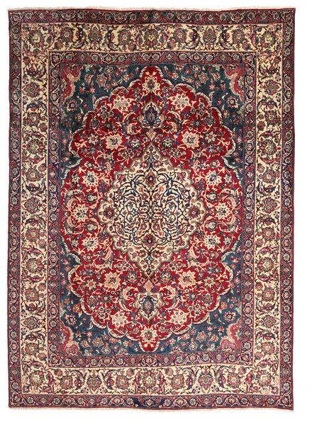 Yazd Matto 289X395 Itämainen Käsinsolmittu Tummanruskea/Ruskea Isot (Villa, Persia/Iran)