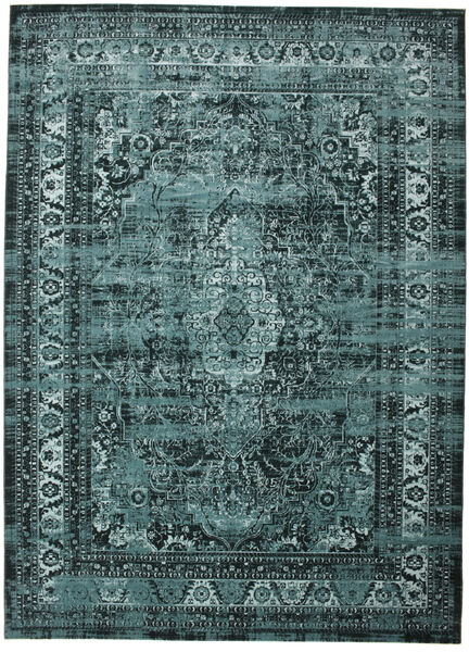 Jacinda - Dark Rug 300X400 Modern Blue/Turquoise Blue/Dark Blue Large ( Turkey)
