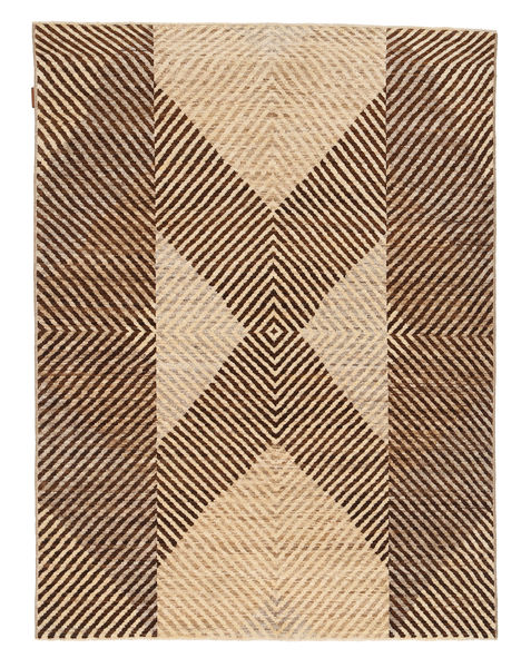 Ziegler Modern Rug 147X192 Authentic  Modern Handknotted Dark Brown/Light Brown (Wool, Pakistan)