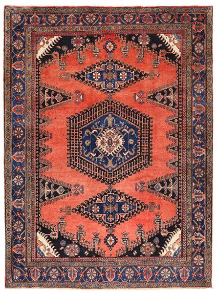 Wiss Rug 280X375 Authentic  Oriental Handknotted Dark Purple/Orange Large (Wool, Persia/Iran)