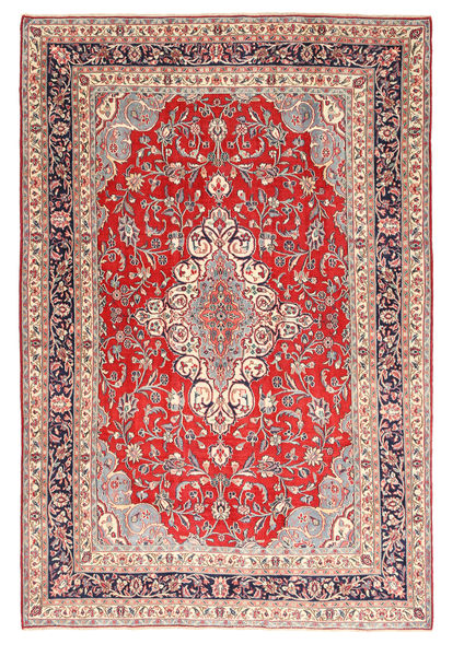 Hamadan Shahrbaf Patina Rug 208X305 Authentic  Oriental Handknotted Light Grey/Beige (Wool, Persia/Iran)