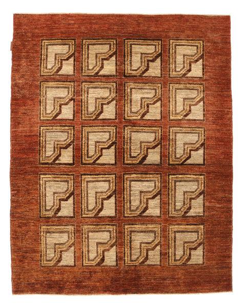 Ziegler Modern Rug 154X194 Authentic  Modern Handknotted Rust Red/Light Brown (Wool, Pakistan)