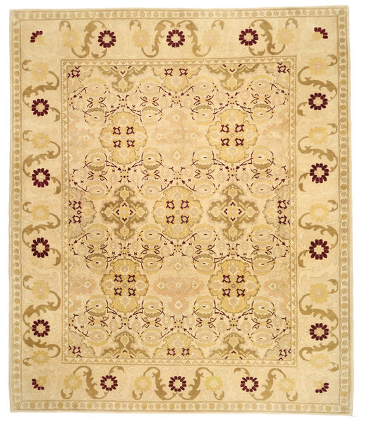 Egypt Rug 300X357 Authentic  Oriental Handknotted Dark Beige/Light Brown Large (Wool, Egypt)