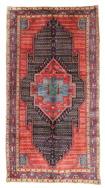 Kurdi Matto 153X289 Itämainen Käsinsolmittu Violetti/Ruskea (Villa, Persia/Iran)