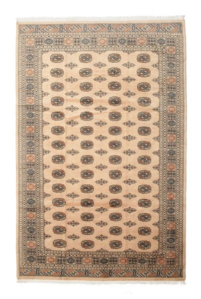 Pakistan Bokhara 3Ply Rug 205X313 Authentic  Oriental Handknotted Dark Brown/Light Brown (Wool, Pakistan)