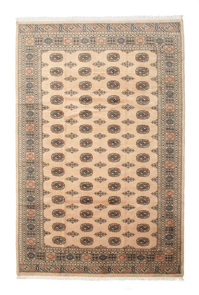 Pakistan Bokhara 3Ply Matto 205X313 Itämainen Käsinsolmittu Tummanruskea/Vaaleanruskea (Villa, Pakistan)