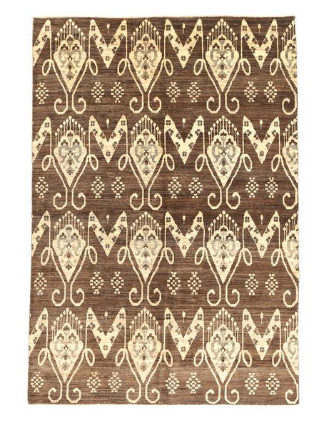 Ziegler Modern Rug 162X235 Authentic  Modern Handknotted Brown/Light Brown (Wool, Pakistan)